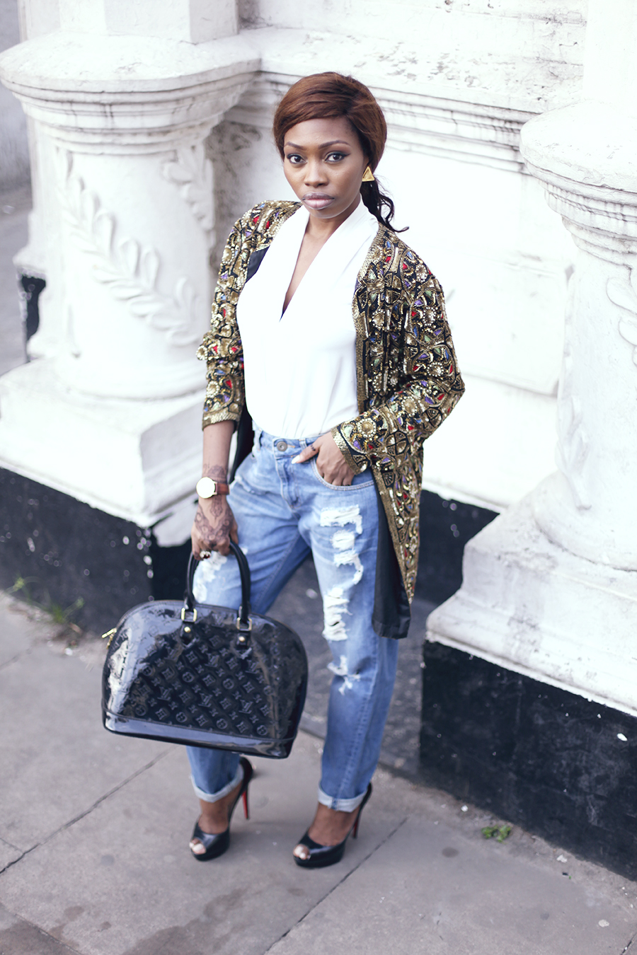 vintage beaded jacket -african fashion blog (8)