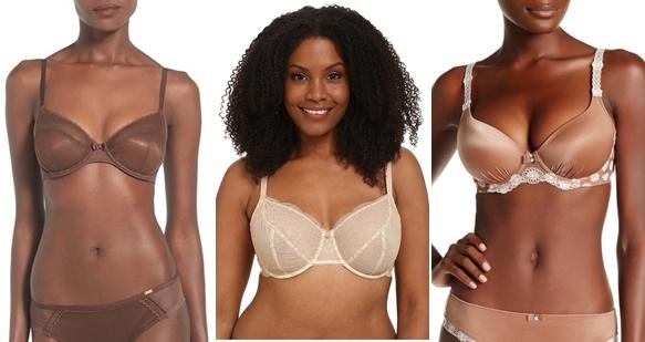nude bras for women
