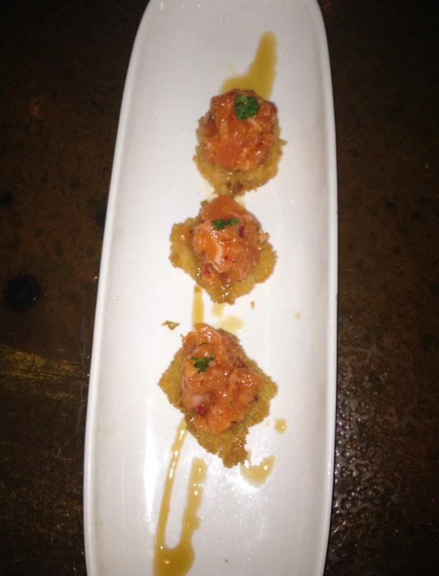 Bluefish Sushi Salmon Tartar Appetizer