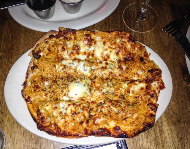 Farinas Grapevine Spaghetti Pizza
