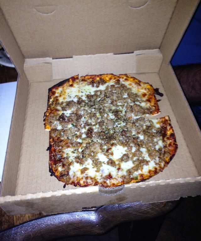 Farinas Winery Grapevine Sausage Pizza