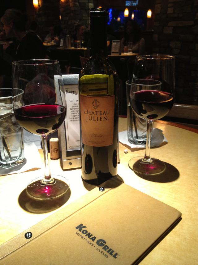 Kona Grill Dallas Wine Wednesday