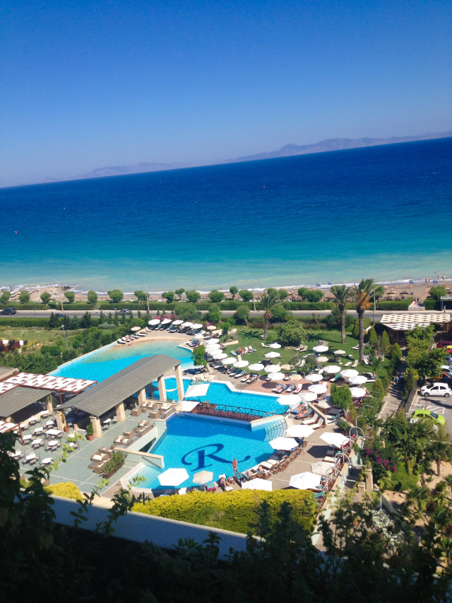 Amathus Hotel Rhodes Greece Vacation Blog