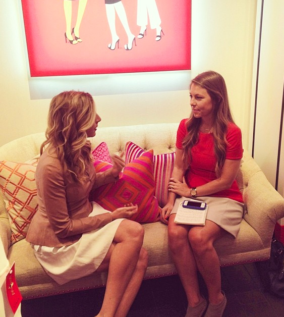Photo from SPANX Instagram snapped during our interview
