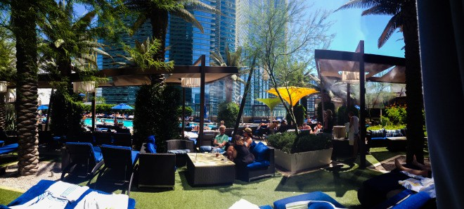 The Cosmopolitan Las Vegas Cabana Pool