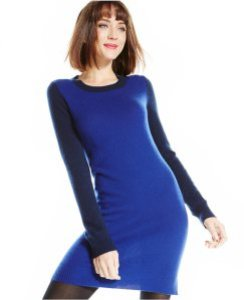 Blue Sweater Dress Macys