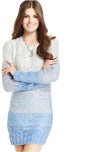 Ombre Sweater Dress Macys