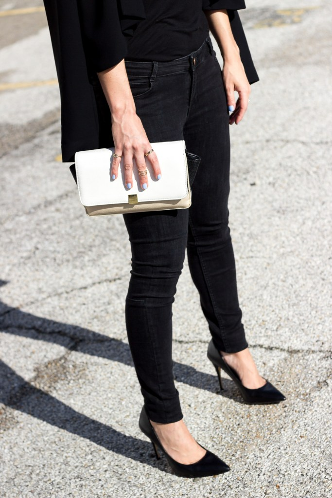 Skinny Jeans and Midi Rings