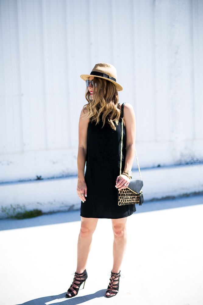 little black vacation dress