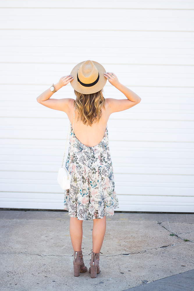 Woven Hat with Sun Dress