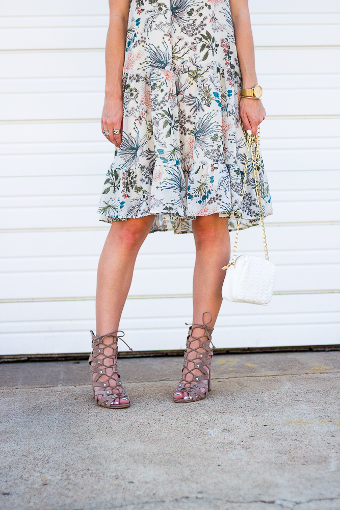 Dolce Vita lace up Sandals