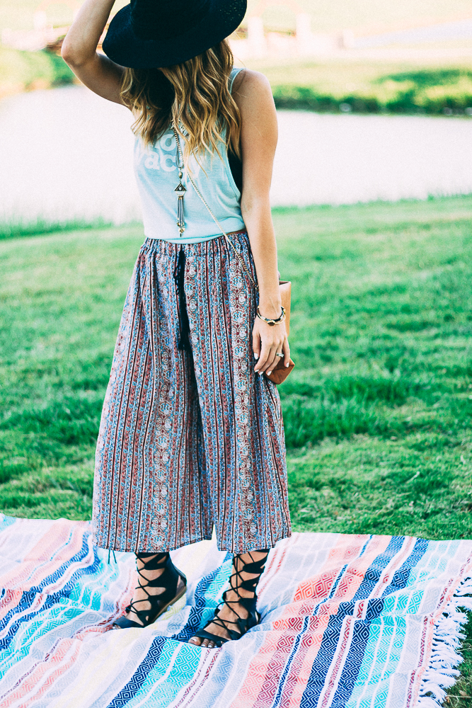 Bohemian Style Culottes