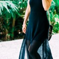 Flowy Black Express Dress
