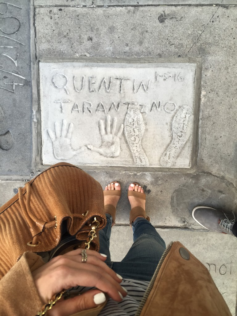 Quentin Tarantino Footprint