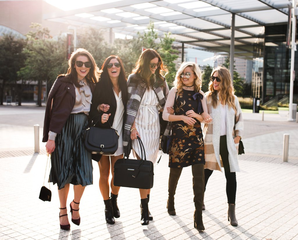 Girlfriend Talk  Marks And Spencer - The Fashion Hour-7502