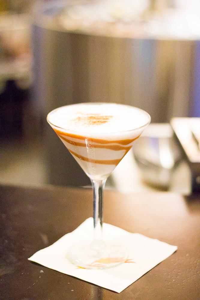 Mi Dia Horchata Martini