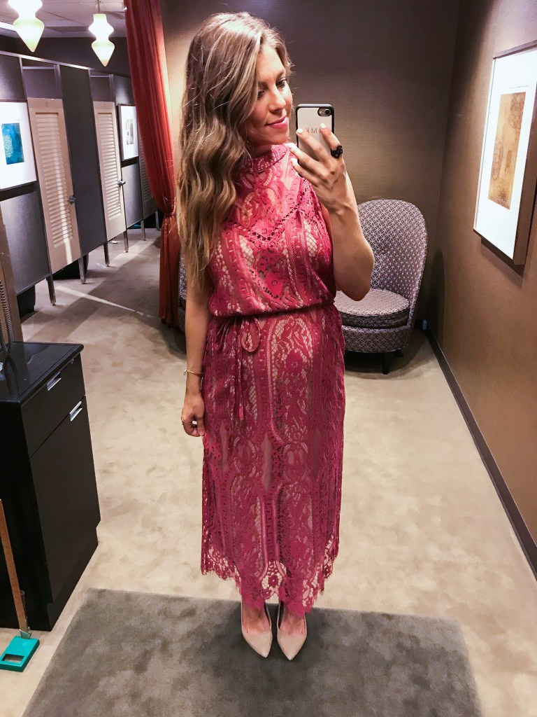 lace dress Nordstrom anniversary sale