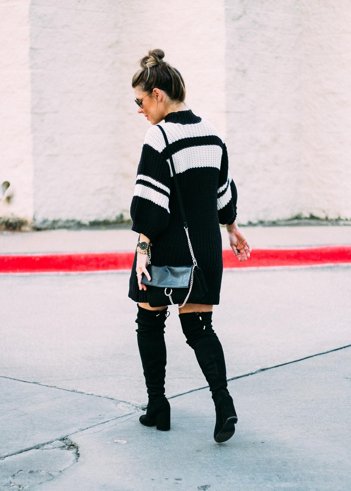 free people twist sweater dress