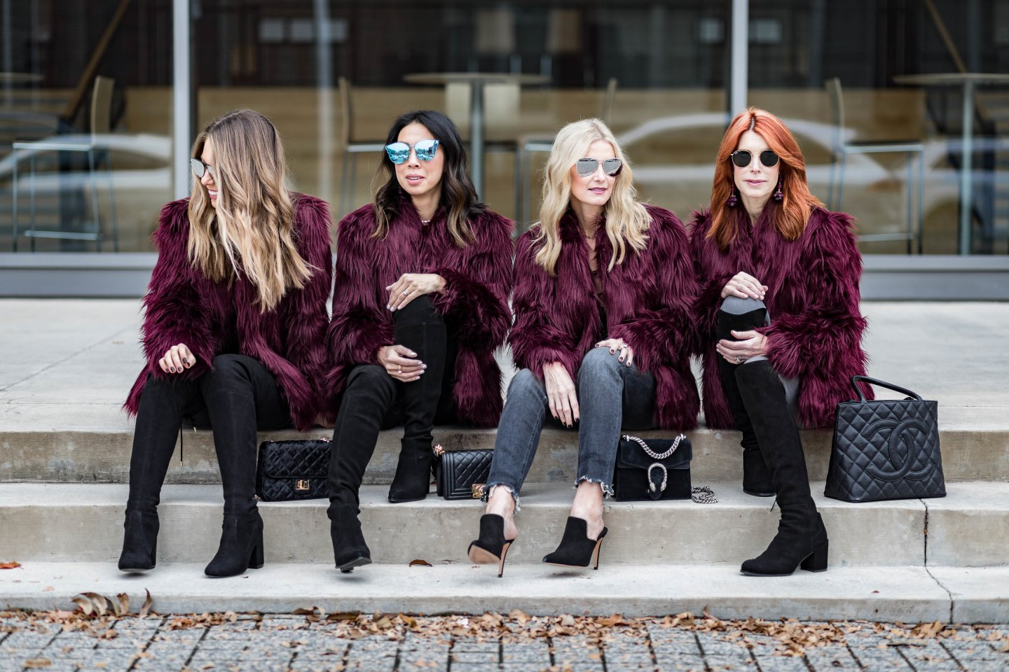 chic at every age faux fur jackets