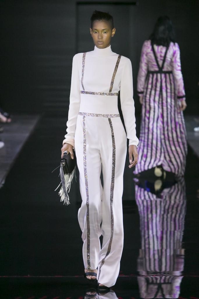 Loris Azzaro Fashion Show Couture Collection Fall Winter 2015 in Paris