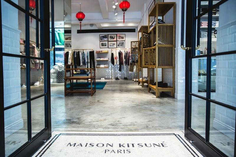 MAISON KITSUNE OPENS IN HONG KONG