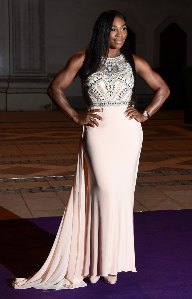 LONDON, ENGLAND - JULY 12:  Serena Williams attends the Wimbledon Champions Dinner at The Guildhall on July 12, 2015 in London, England.  (Photo by Stuart C. Wilson/Getty Images) ORG XMIT: 564363799 ORIG FILE ID: 480525334