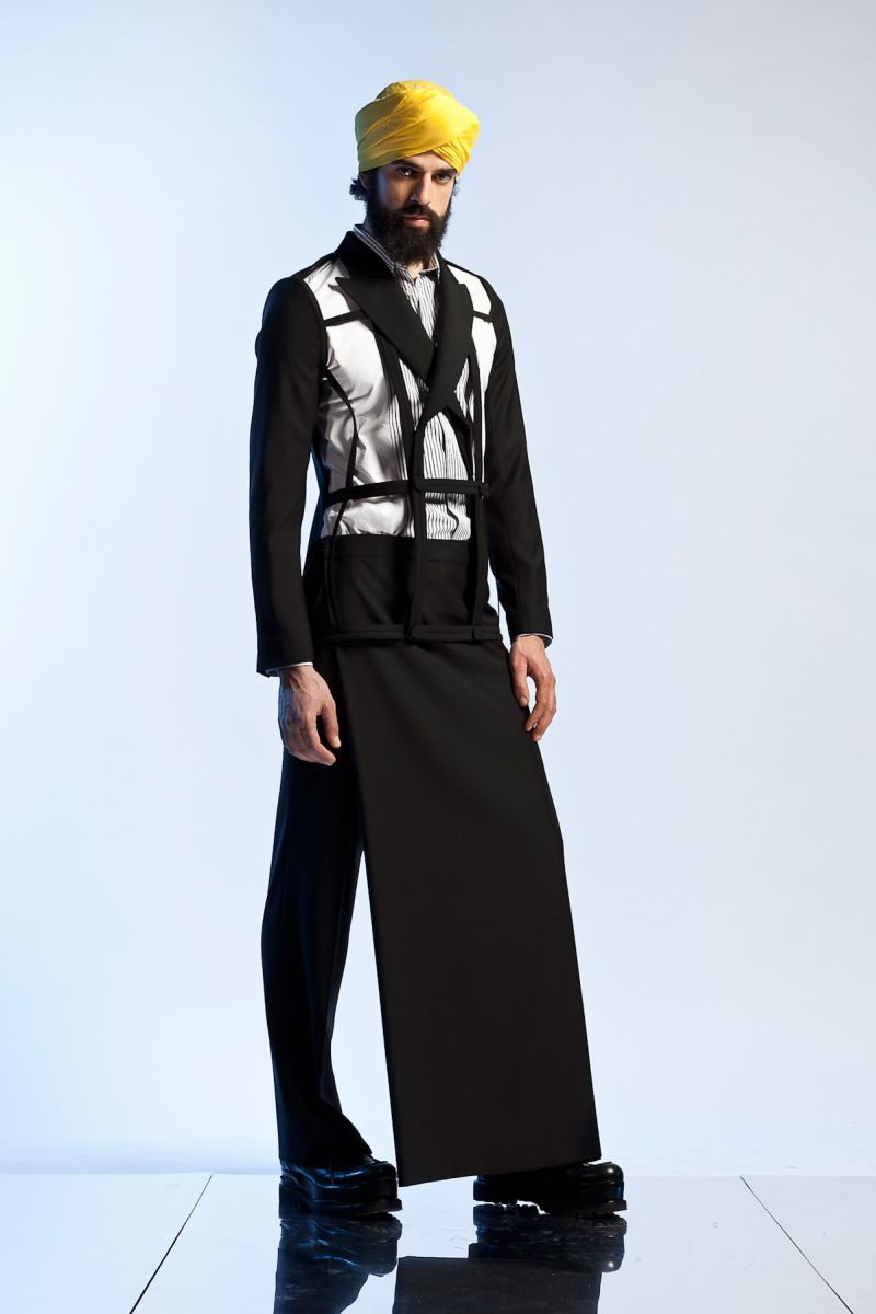 jean paul gaultier adopts an eastern philosophy for spring