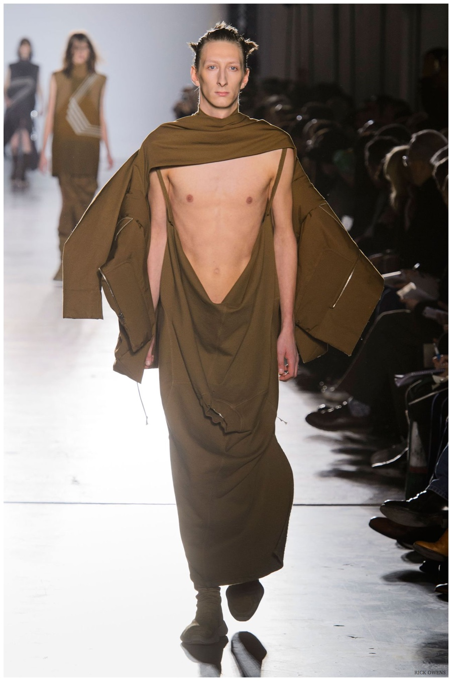 new concept 3922c dd4db Rick Owens Fall Winter 2015 Menswear Collection  High Fashion Exposure