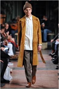 Billy Reid fall-winter 2015 menswear show during New York Fashion Week.