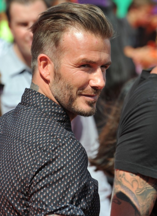 david beckham hairstyle evolution pictures | the fashionisto