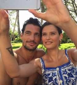 Dolce gabbanas light blue gets into the winter spirit dolce gabbana light blue stars david gandy bianca balti reunite aloadofball Gallery