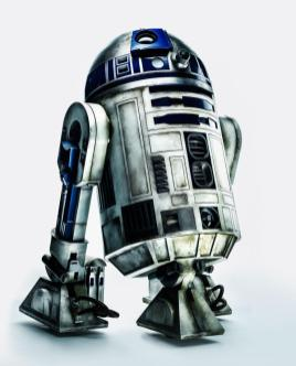 R2D2 photographed for TIME magazine.
