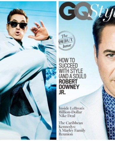 f8bd6a4e9f8c Robert Downey Jr. Rocks Summer Tailoring for American GQ Style