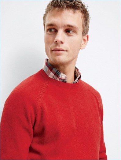 JCrew-Red-Crewneck-Sweater