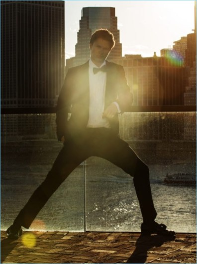 Ansel Elgort Covers Gentleman S Journal Dons Dapper Fashions