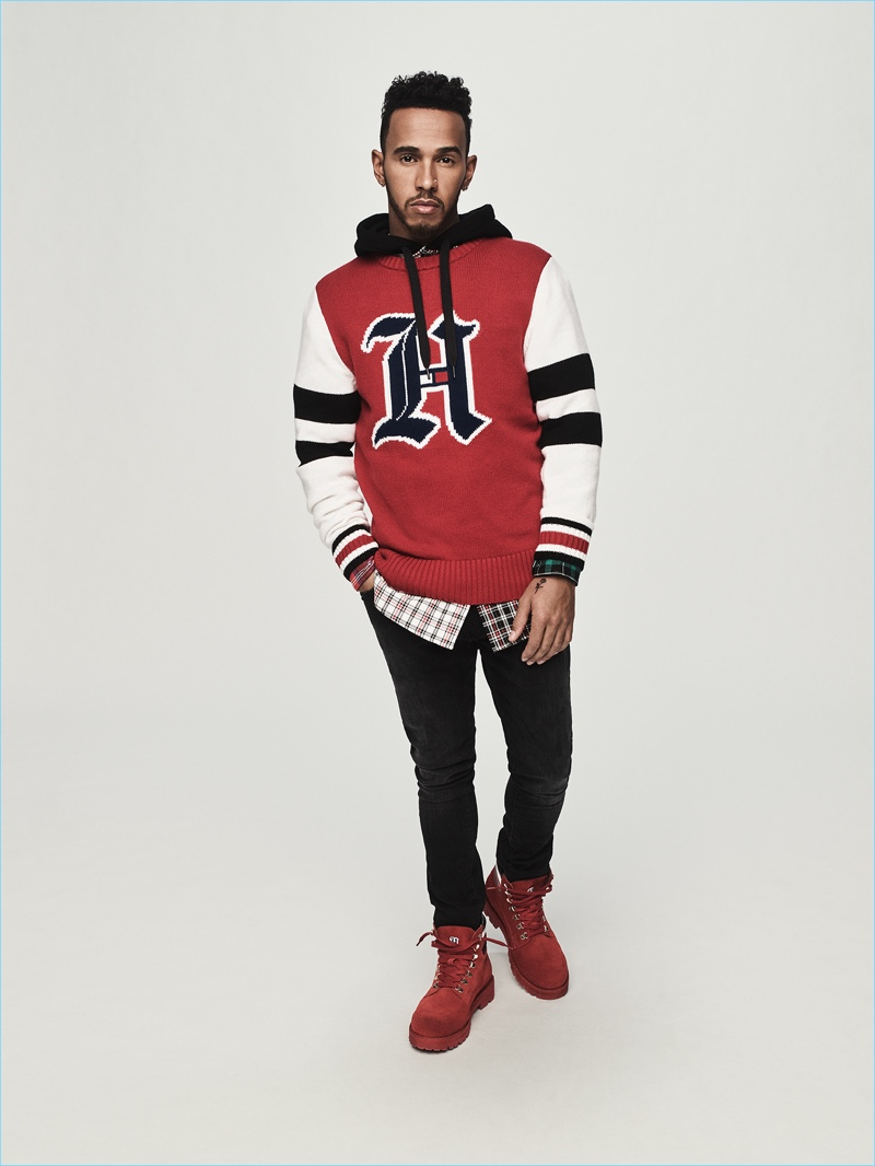 df77e43e6e Lewis Hamilton | Tommy Hilfiger | Collaboration | Fall 2018 ...
