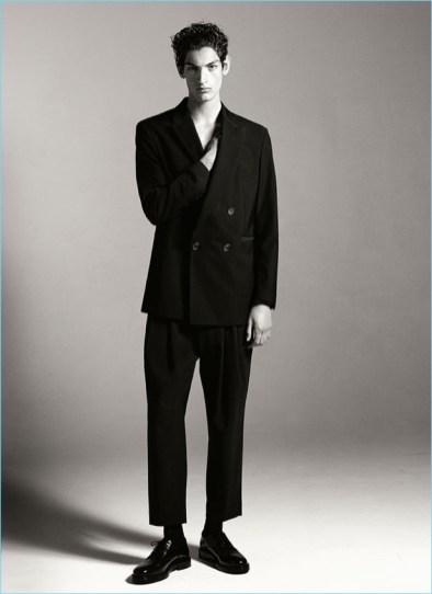 Aaron Shandel in Zara Man blazer.