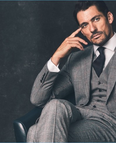 d88bfee8e4 David Gandy Finds Sartorial Stride with Latest Marks & Spencer Collaboration