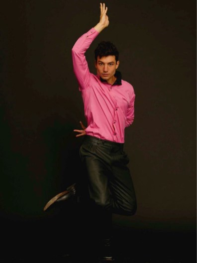 Ezra Miller stars in a cover photo shoot for GQ España.