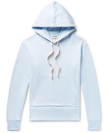565d19f313 Acne Studios – Frake Slim-Fit Loopback Cotton-Jersey Zip-Up Hoodie ...