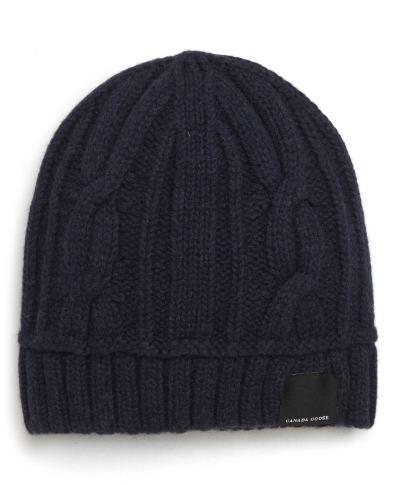 7d28332221e Canada Goose Merino Wool Basket Stitch Beanie –   The Fashionisto