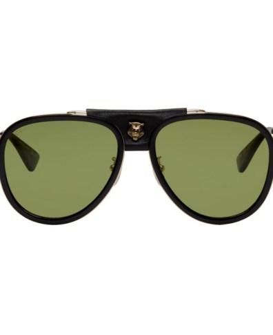 1f8ca4a650b6 Gucci Tortoiseshell and Black Opulent Luxury Flip-Up Sunglasses ...