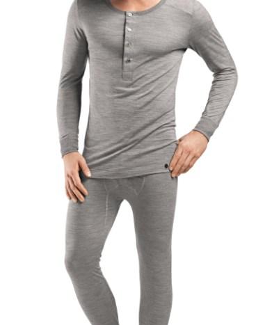 165855257e15 HANRO Light Merino Long Sleeve Shirt – Silver S – 74067 | The ...