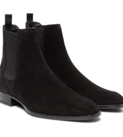 9f8d65c2c5e6 Saint Laurent – Polished-Leather Chelsea Boots – Men – Black