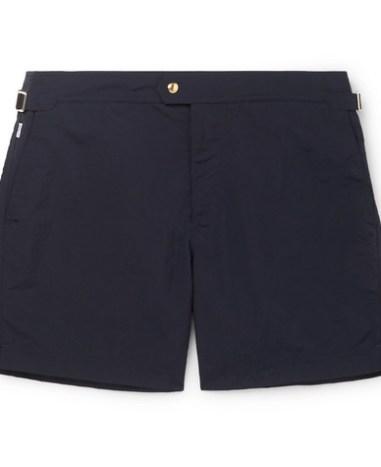dfb0182306 TOM FORD – Mid-Length Slim-Fit Swim Shorts – Men – Coral | The ...