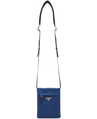02cab6f3681f Prada Black Nylon Mountain Messenger Bag