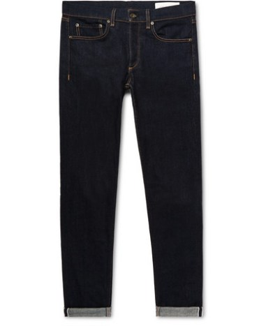 2ea704ff rag & bone – Fit 2 Slim-Fit Raw Selvedge Denim Jeans – Men – Dark ...