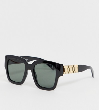 57bd8a6112348 ASOS DESIGN round sunglasses in copper with brown grad lens – Gold ...