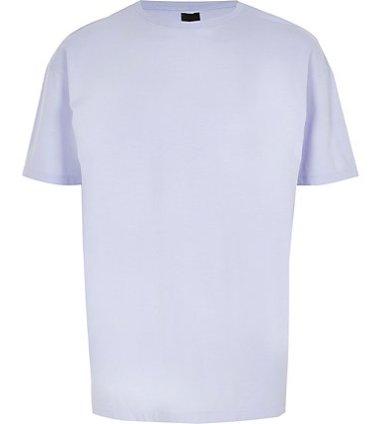 4de1686fee2 River Island Mens Dark green oversized short sleeve T-shirt | The ...