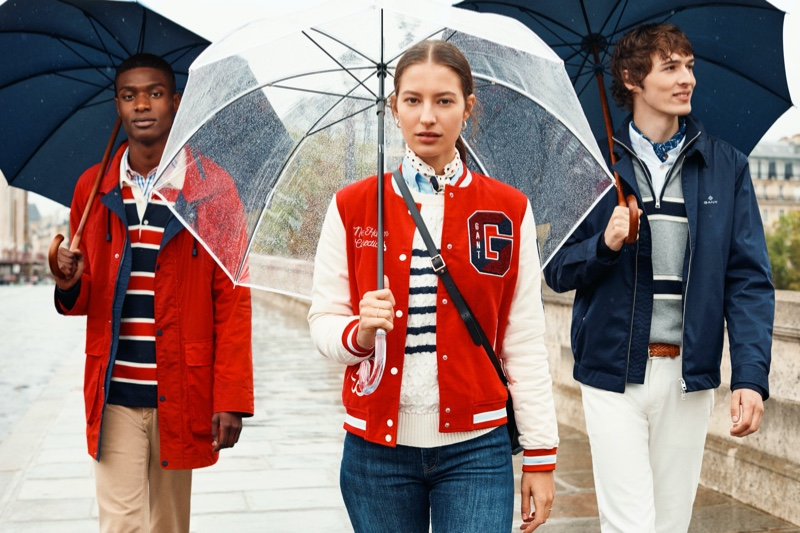 Dylan & Rachide Travel to Paris for Gant Spring '20 Campaign